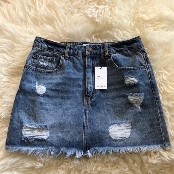 a54758ad8d5 Forever 21 Skirts | Denim Skirt Size 28 | Poshmark